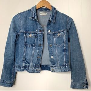 EUC Madewell Jean Jacket Size Medium